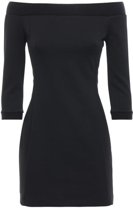 Calvin Klein Jeans Off-the-shoulder Milano Mini Dress