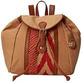 Lucky Brand Kendal Washed Linen Backpack
