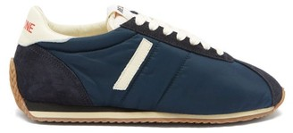 RE/DONE 70s Suede-panelled Trainers - Navy