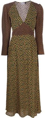 Rixo Cordelia floral-print midi dress