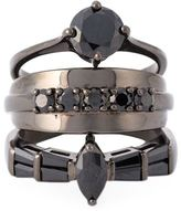 Iosselliani 'Black on Black Memento' ring