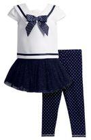 Sweet Heart Rose Sweetheart Rose Three-Piece Sailor Top, Skirt Dress and Leggings Set