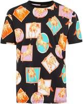 Topman Black Horses Oversized T-shirt