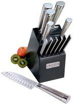 Oneida 13-pc. Stainless Steel Black Cutlery Set