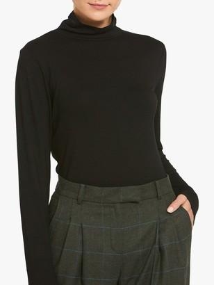 Helen McAlinden Cora Long Sleeve Polo Neck Top