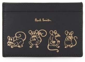 Paul Smith Chinese New Year Rat Leather Card Case