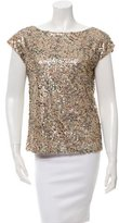 Rachel Zoe Sleeveless Sequined Top w/ Tags