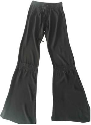 Bel Air Black Trousers for Women