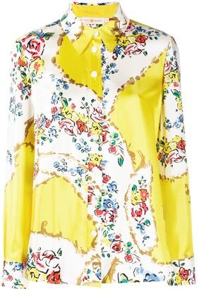 Tory Burch Floral Print Shirt