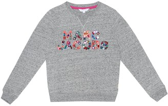 Little Marc Jacobs Embellished cotton sweater