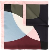 Mulberry multi-dot square scarf