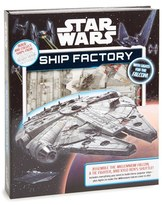 Simon & Schuster Kid's Studio Fun Star Wars(TM) Ship Factory Book & Model Kit