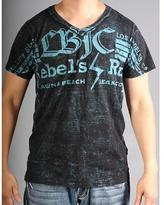 Laguna Beach Jean Co. Laguna Beach Jeans Men's V-Neck Redondo Beach Black 2012 Graphic Tees