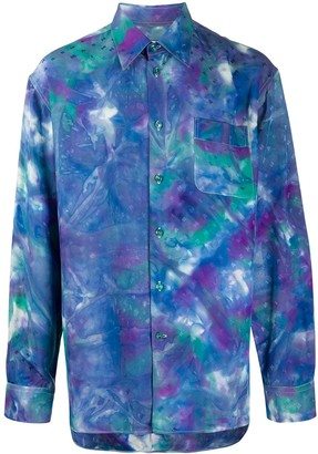 Marni Tie-Dye Print Shirt