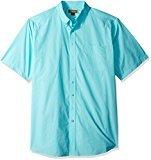 Ariat Men's Big and Tall Short Sleeve Performance Poplin Shirt