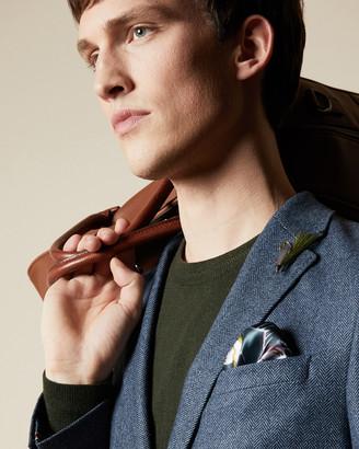 Ted Baker Wool Herringbone Blazer