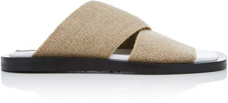 Proenza Schouler Linen Slides Size: 36