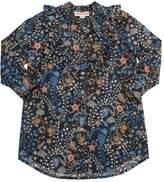 Anne Kurris Floral Printed Cotton Poplin Dress
