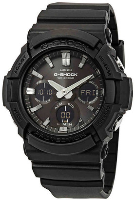 Casio G-Shock Alarm World Time Black Dial Men's Watch GAS-100B-1ACR
