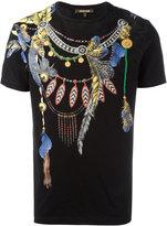Roberto Cavalli wing printed t-shirt