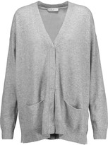 Sandro Girl oversized wool and cashmere-blend cardigan