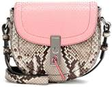 Altuzarra Exclusive to mytheresa.com – Ghianda Saddle Mini snakeskin shoulder bag
