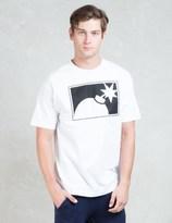 The Hundreds White Forever Half Bomb T-Shirt