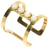 Lizzie Fortunato Pebble T-Bar Cuff in Mother of Pearl