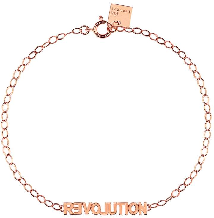 ginette_ny Fairy Revolution Bracelet - Rose Gold