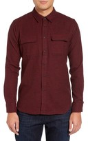 Slate & Stone Men's Parker Slim Fit Houndstooth Flannel Shirt