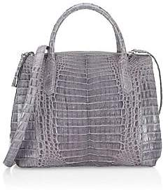 Nancy Gonzalez Women's Medium Nix Crocodile Top Handle Bag