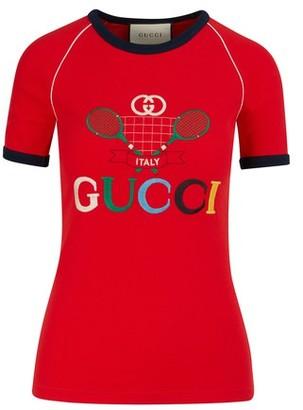 Gucci GG tennis t-shirt