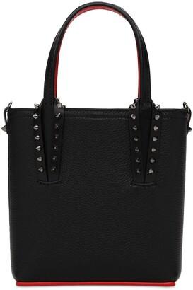 Christian Louboutin Cabata N/s Mini Leather Tote Bag