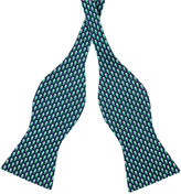 Tommy Hilfiger Men's Micro Fish Print To-Tie Bow Tie