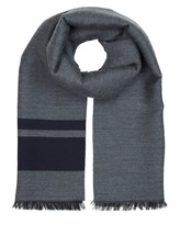 Engineered Stripe Scarf