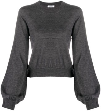 P.A.R.O.S.H. Bell Sleeve Knitted Sweater