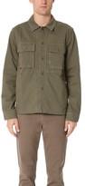 Alex Mill Herringbone Military Jacket