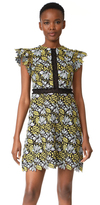 Cynthia Rowley Lace Flutter Sleeve Dress