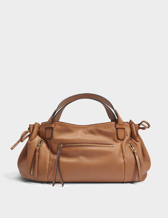 Gerard Darel Rebelle GD Bag in Caramel Leather