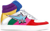 Marc Jacobs Eclipse hi-top sneakers - women - Leather/Suede/rubber - 36