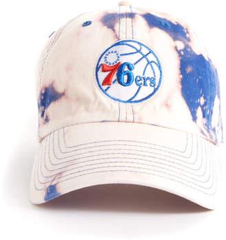 Emily Tie Dyes X Smu Emily Tie Dyes x SMU Tie Dye Philadelphia 76ers Hat Blue Multi 1 Size