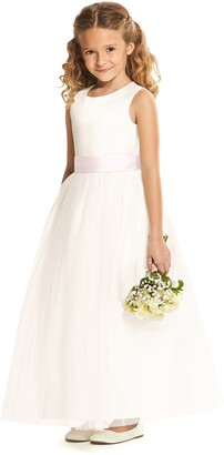 Dessy Collection Flower Girl Dress