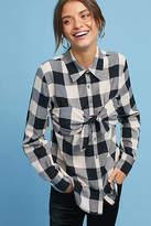 Mara Hoffman Knotted Gingham Shirt