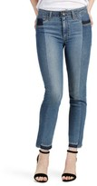 Paige Women's Taylor High Waist Straight Leg Jeans