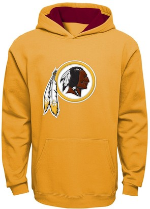 Redskins Outerstuff Youth Gold Washington Fan Gear Prime Pullover Hoodie