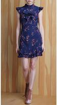 Adelyn Rae Phoebe Ruffle Sheath Dress