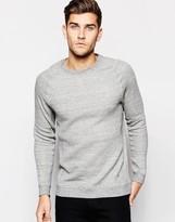 Selected Sweatshirt with Raglan Sleeves