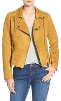 Steve Madden Women's Faux Suede Moto Jacket