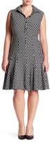 Taylor Honeycomb Knit Dress (Plus Size)