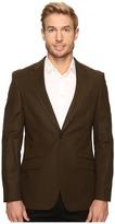 Perry Ellis Slim Fit Stretch Solid Sateen Suit Jacket